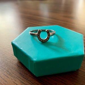 Montana Silversmith Horseshoe Ring